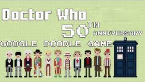 Doctor Who. Juegos de Google