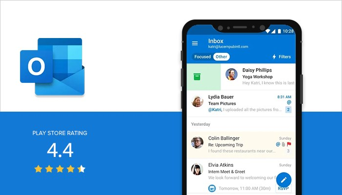 Outlook para Android y iOS