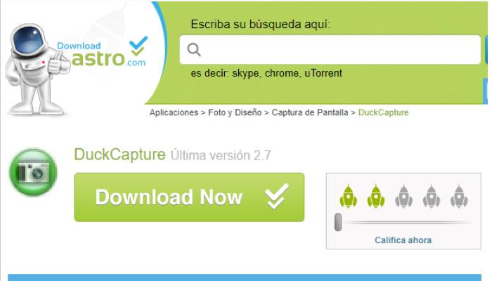 DuckCapture, herramienta que puedes agregar a tu laptop para realizar captures de pantalla