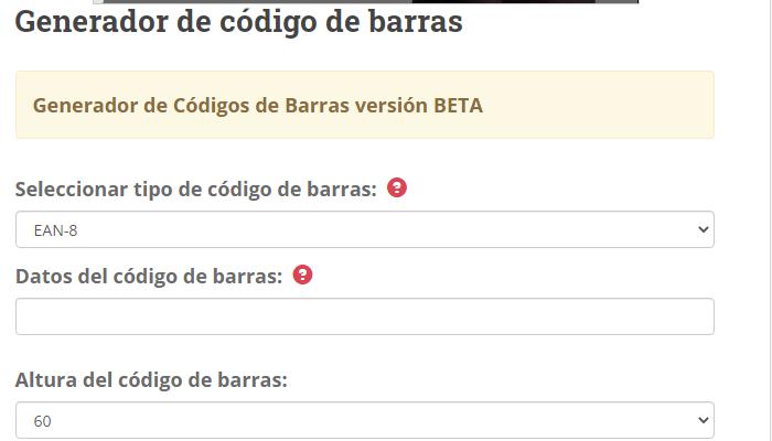 codigo qr programa para códigos de barras