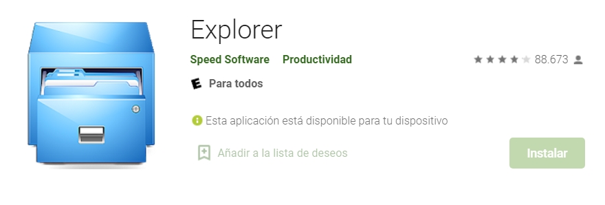 explorer software android